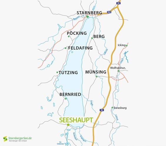 Seeshaupt Am Starnberger See Informationen Zur Gemeinde