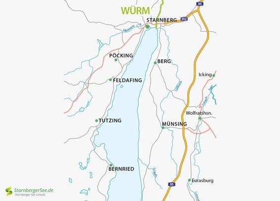 Fluss Wurm Amper Informationen Und Impressionen